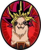 Yugi Llama by daremaker
