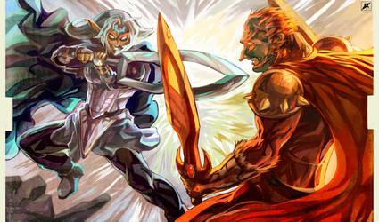 Battle of Hyrule's Giants by daremaker