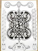 Floral celtic nouveau by MozDynamite