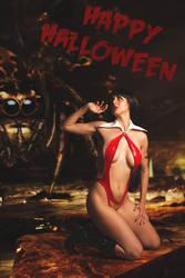 Vampirella by JubyHeadshot