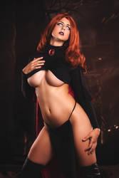 Goblin Queen / Madelyne Pryor by JubyHeadshot