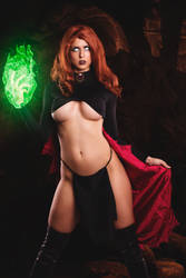 Goblin Queen/ Madelyne Pryor by JubyHeadshot