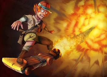 Schoolboy Gnome by bat-19