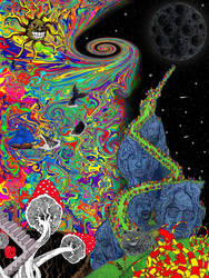 Psychedelic Landscape by rblee83
