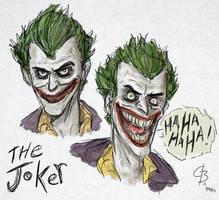 The Joker sketches by GarrettByers