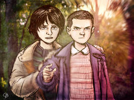 Mike and Eleven by GarrettByers