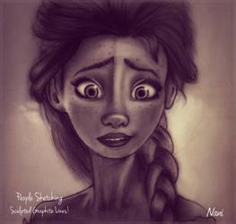 Elsa! by nanideviantart