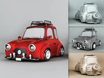 Mini Car! by nanideviantart