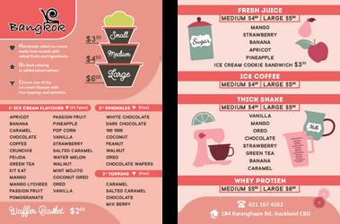 Ice Cream Shop - Flyer Design by nanideviantart