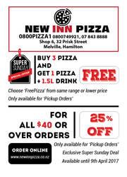 Pizza Promotional Flyer by nanideviantart