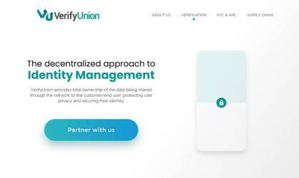 Verify Union - Website Header by nanideviantart