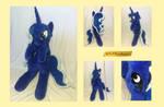 Princess Luna Cuddle Pal Plushie by KLPlushies