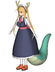 Tohru Dragon Maid 3D model by KLPlushies