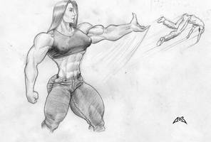 Superstrong woman 5 by AOS by ArchiveSW