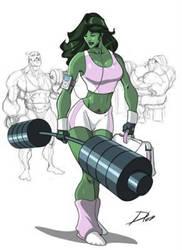 She  Hulk Sensacional ! by ArchiveSW