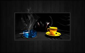 Nicotine Music Coffeine by LeWelsch