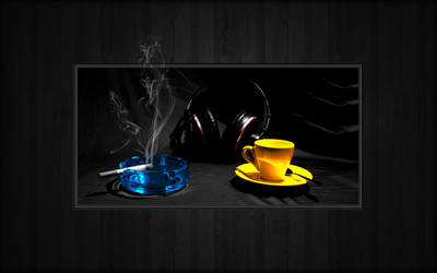 Nicotine Music Coffeine by LeWelsch