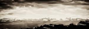 Berner Oberland Retro by LeWelsch