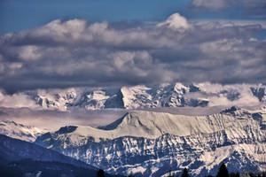 Summits In Clouds by LeWelsch