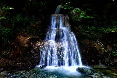 Gaebelbach Waterfall by LeWelsch
