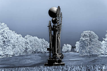 Landed On Planet X3DA1L0N by LeWelsch