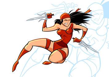 Elektra by FranBianchi