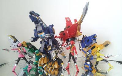 Kaizoku Sentai Gokaiger by 0PT1C5
