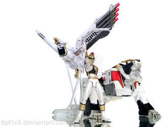 White Ranger 2 by 0PT1C5