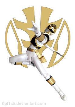 White Ranger 4 by 0PT1C5