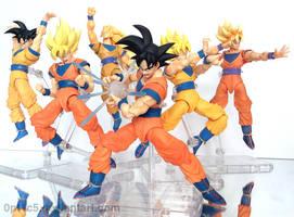 SHF Goku by 0PT1C5