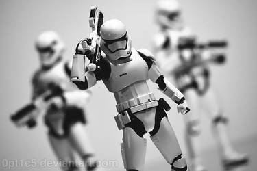 First Order Stormtroopers by 0PT1C5
