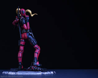 Lady Deadpool by 0PT1C5