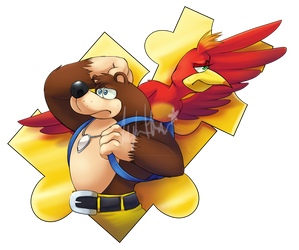 Banjo and Kazooie by ScittyKitty