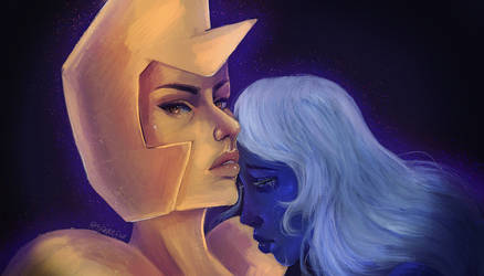 Blue and Yellow screenshot redraw by Saoiirse
