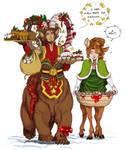 Gingerbread invasion by Maiwenn