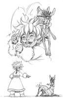 . Inzhu and Jackenote . by Maiwenn