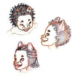 . Cheetah kids . by Maiwenn