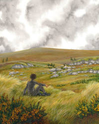Alone in the moor by Maiwenn