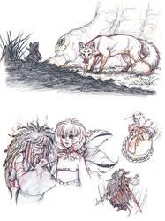 Strix and Kornei by Maiwenn