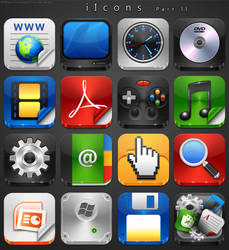 iIcons PartII Work In Progress by treetog