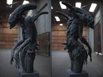 Alien Concept by DominicQwek