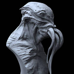 Cthulhu Sculpt by DominicQwek