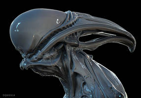 Biomech Sculpt by DominicQwek
