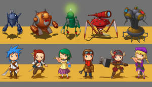 Miniature Concepts by whiteoxygen