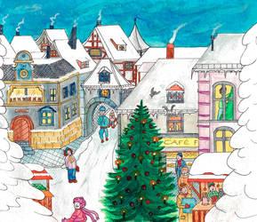 Christmas Town by LeitaGR
