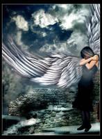 Shy Angel by Serkenil