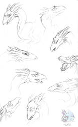 Relon Faces Sketchdump by The-Snowlion