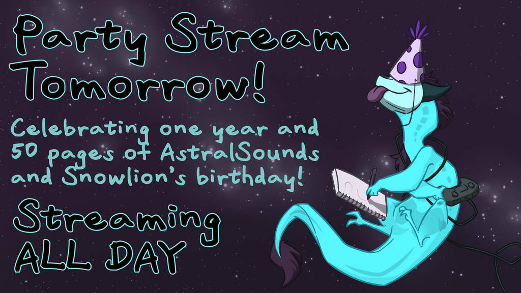 Party Stream Announcement by The-Snowlion