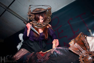 Saw Trap 2 by Sato-photography