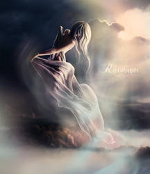 Air Elemental: Aura by CristaliaART